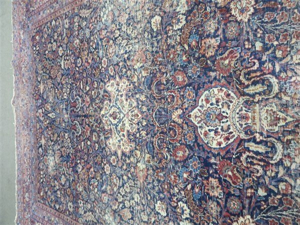 "Early room size persian 8'10"" X 11'6"" - 4"