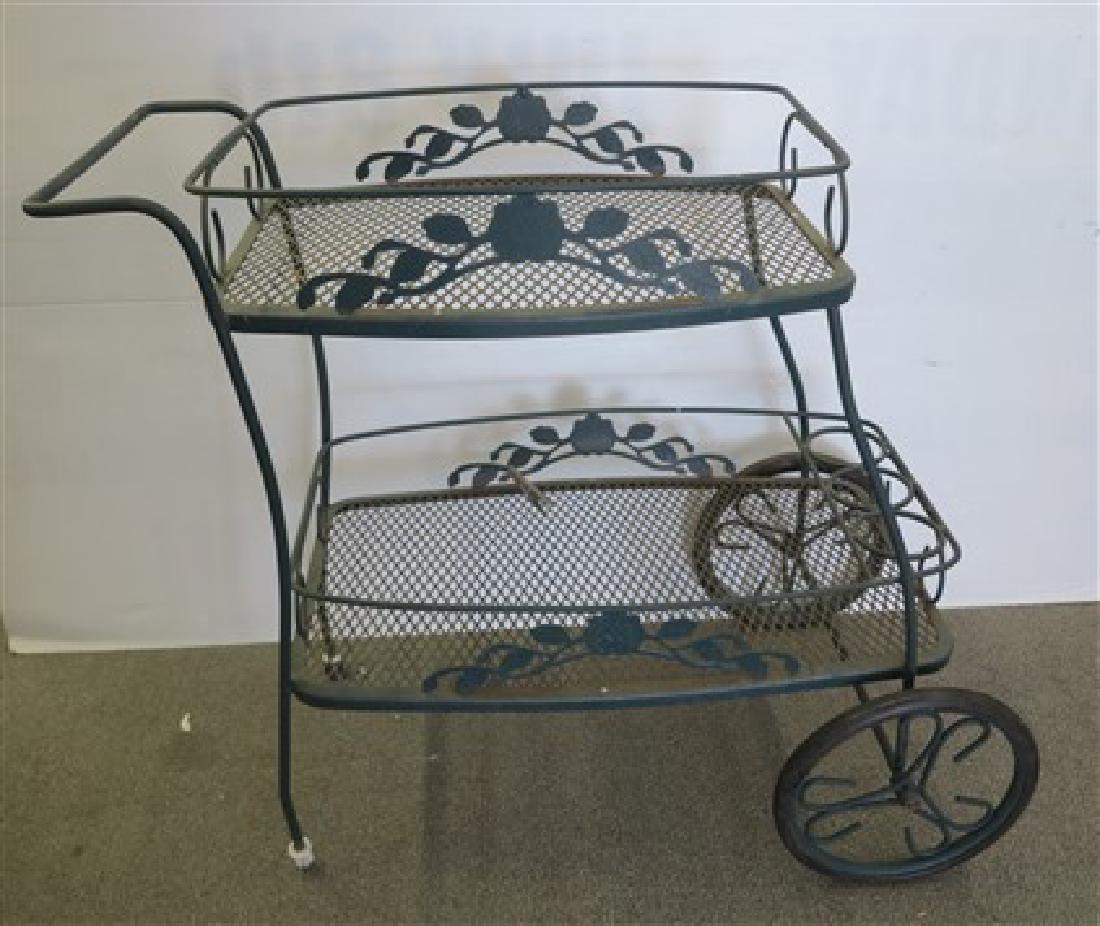 Woodard style iron cart
