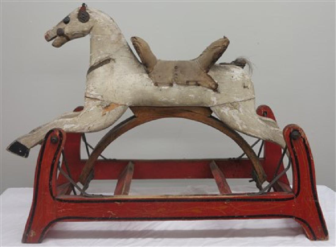 Carved hobby horse