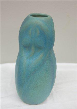 """2 Van Briggle bud vases 4"""" and 6"""" - 2"""