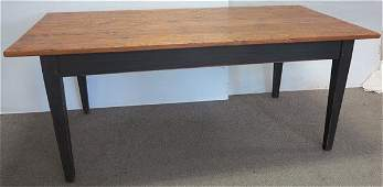 """Canadian farm table 6' 3"""" long"""