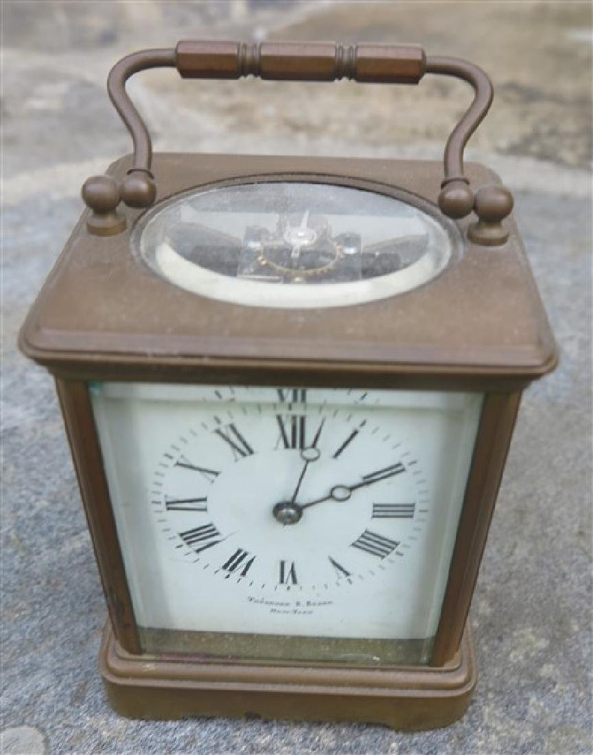 Theodore Starr carriage clock