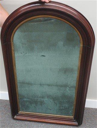 M.T. Victorian chest and walnut Victorian mirror - 2