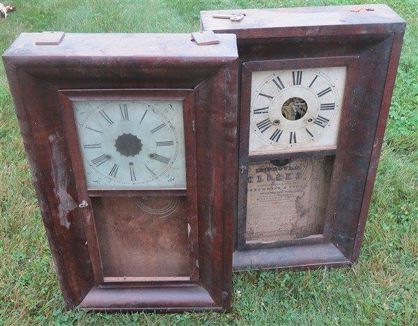 """4 clocks """"as found"""""""