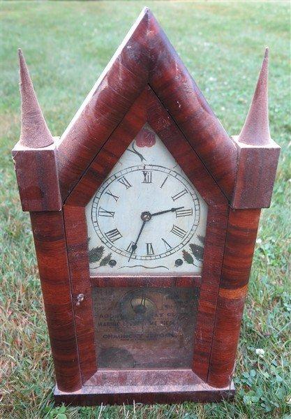 2 Steeple clocks - 2