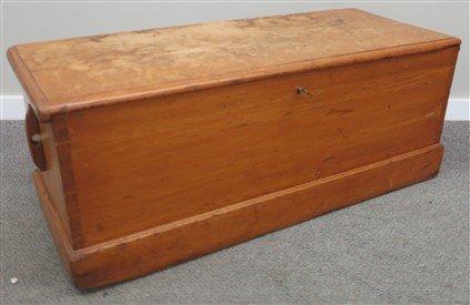 19th century Rhode Island sea chest