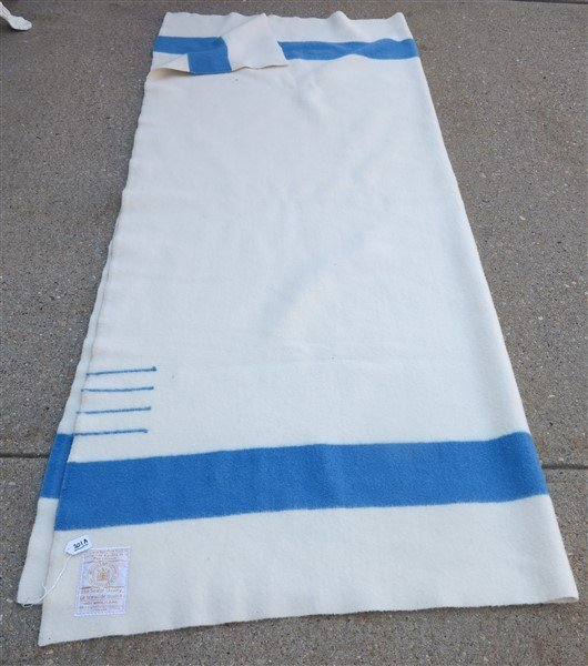 "Hudson Bay blanket- 72"" x 89"""