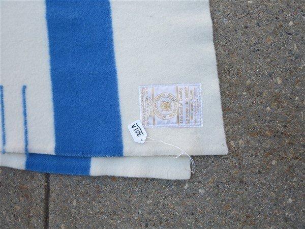 "Hudson Bay blanket- 72"" x 89"" - 2"