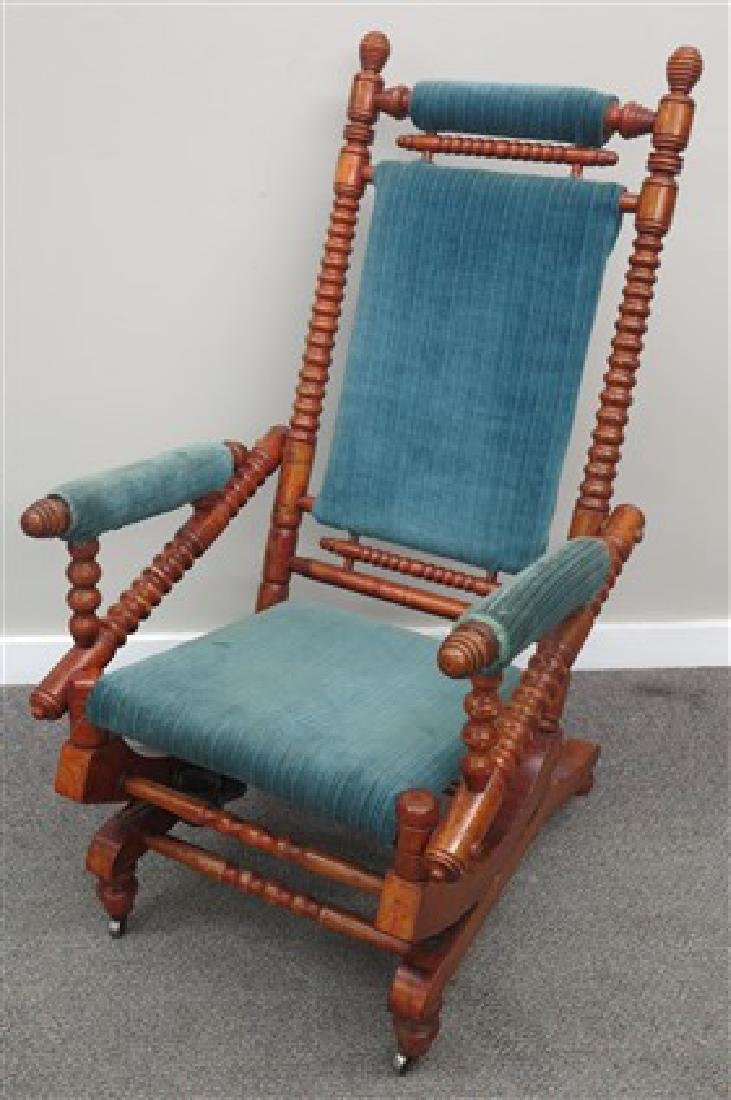 Fancy maple platform rocker