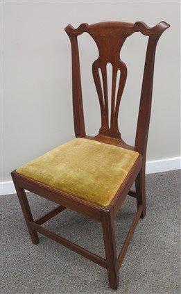 2 18th century Chipp chairs