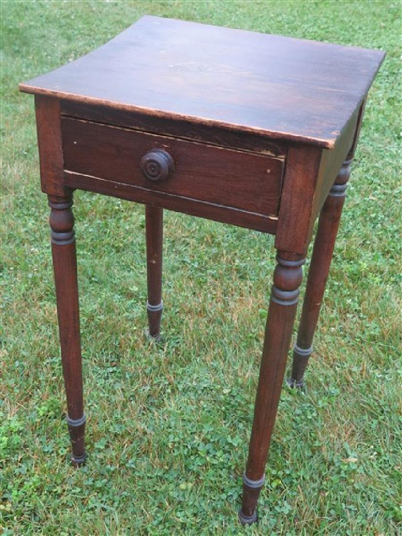 1 drawer 19th century country stand