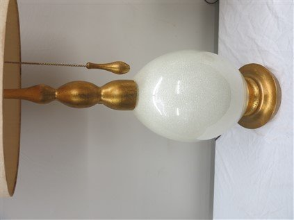 Pair of Large Mid-century Lamps - 2
