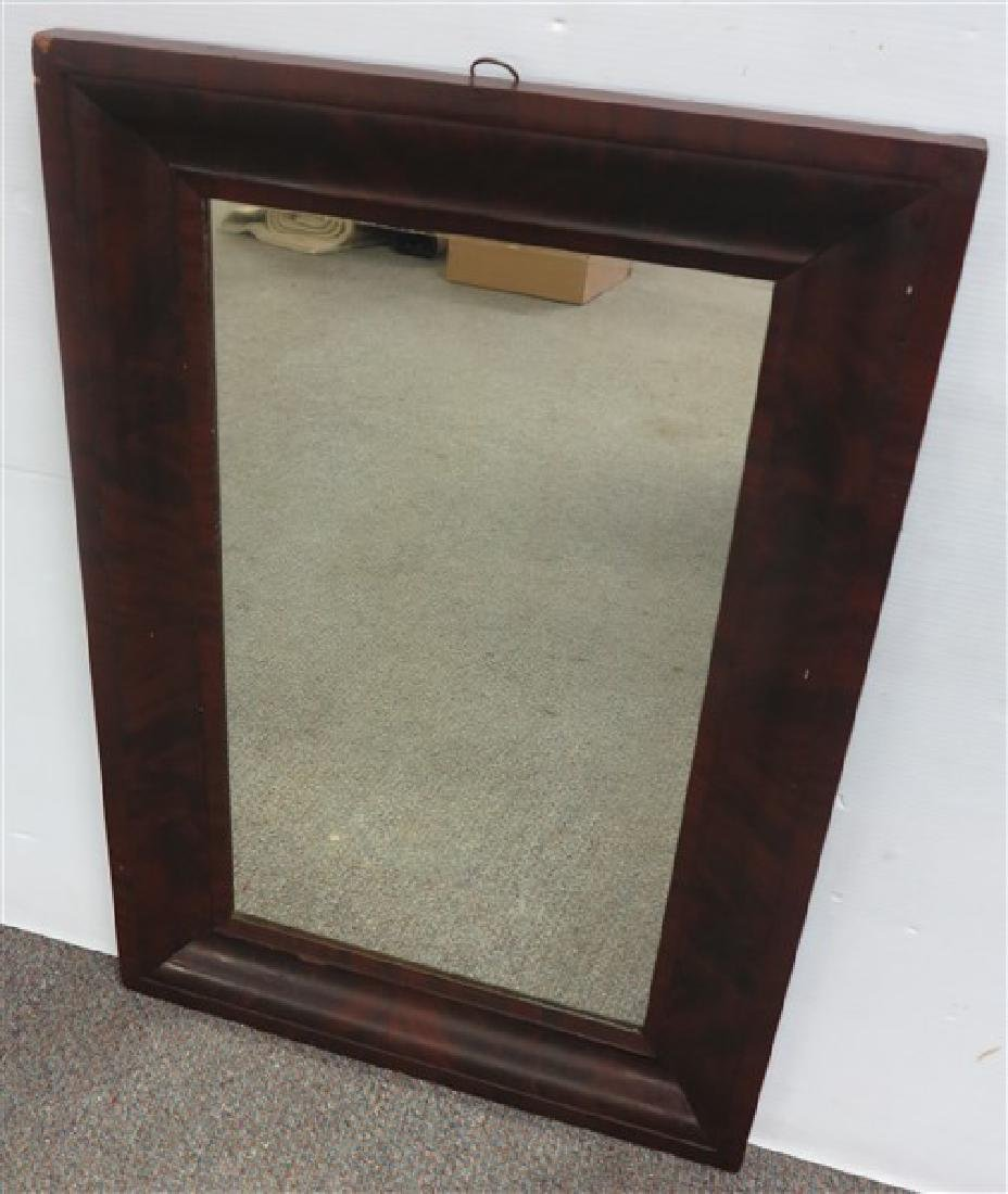 19th century ogee mirror