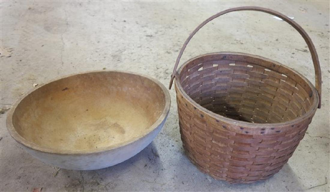 Basket and Bowl