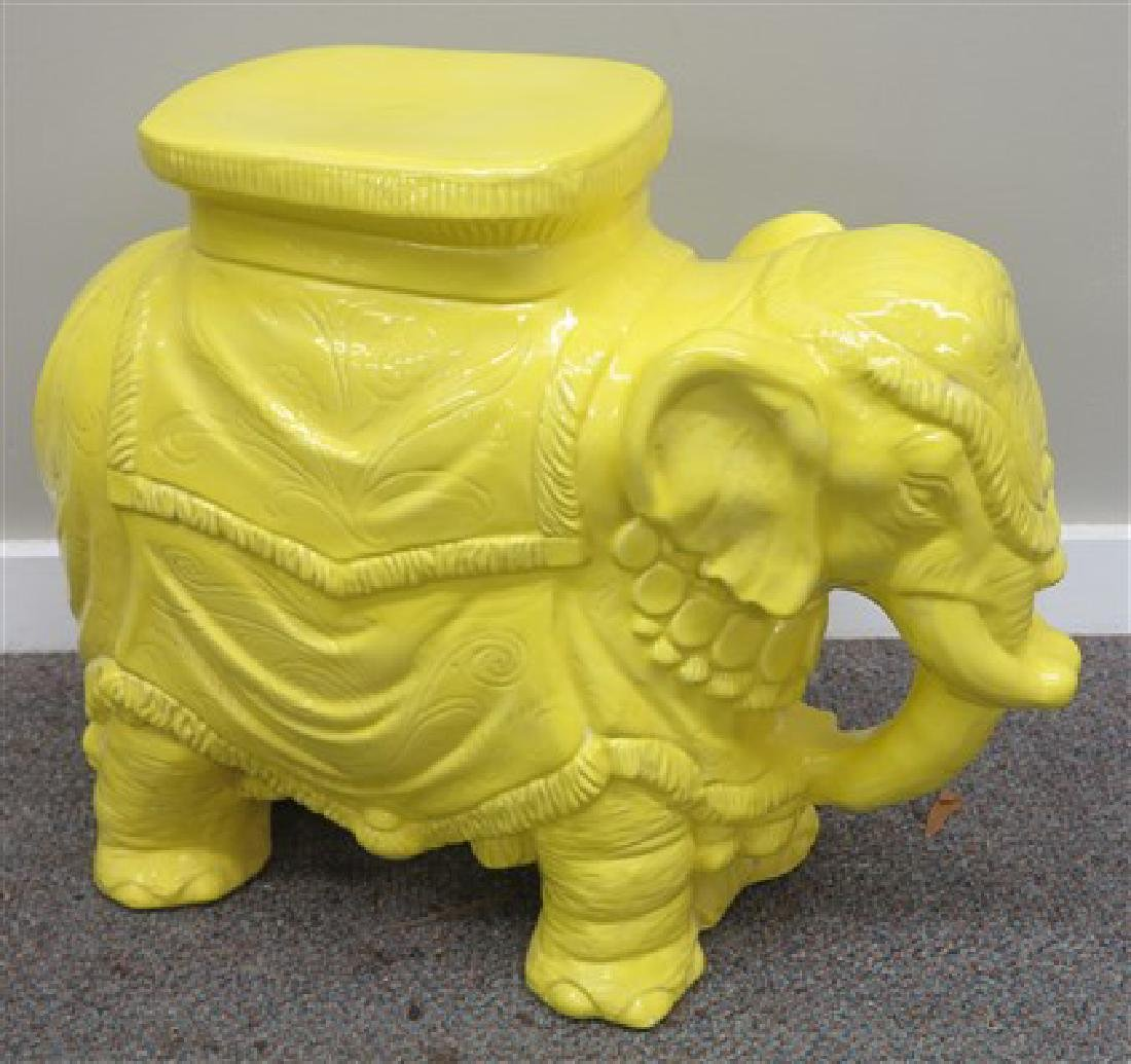 Yellow Elephant Garden Set