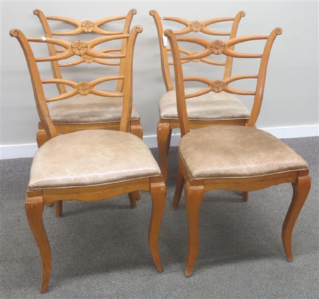 4 Italian Chairs