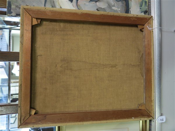 "Unframed 19th century o/c- 18"" x 22"" - 5"