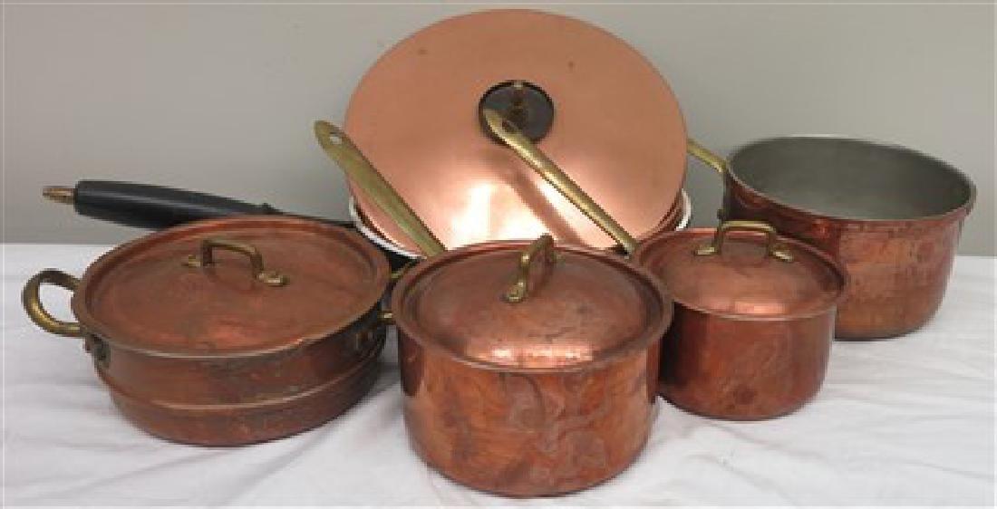 Copper lot 5 pieces