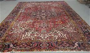 "Semi-antique Persian rug 9' X 12'4"""