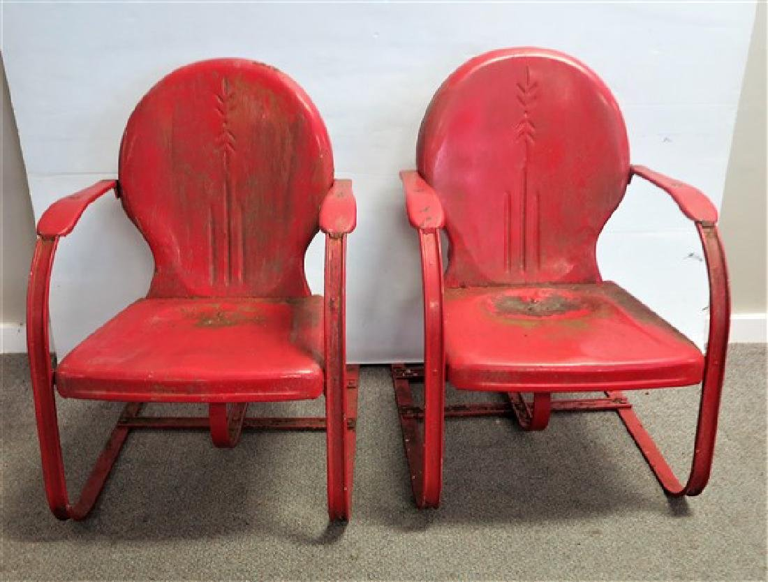 2 vintage spring Chairs