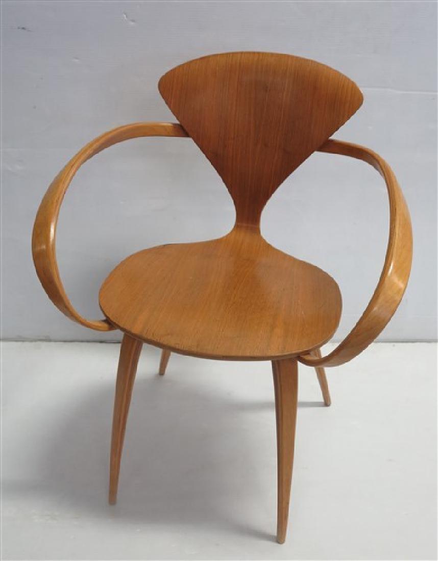Mid-century Cherner arm chair
