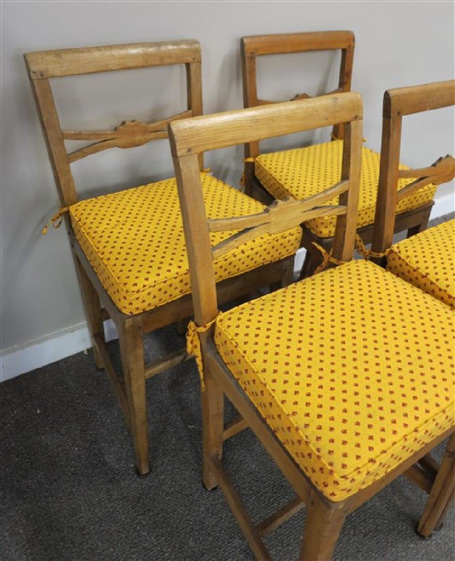 4 19th century English country side chairs - 3