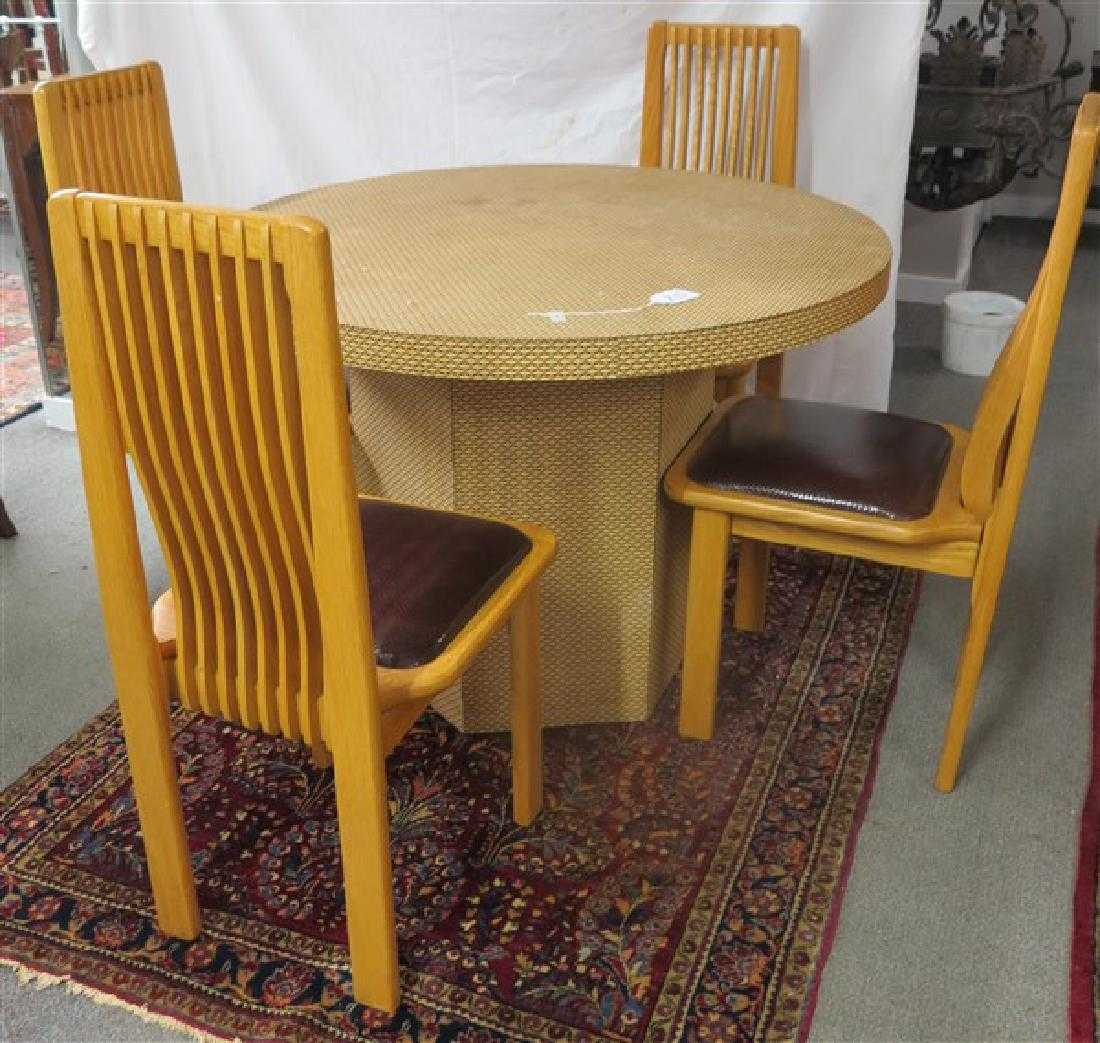 5 Piece Dining Table Set Lustig Bros Brooklyn NY