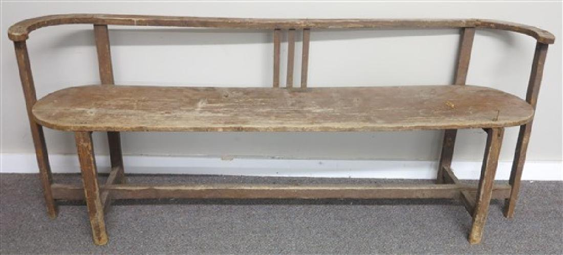 Primitive country bench