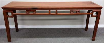 """78"""" Antique Chinese altar table"""