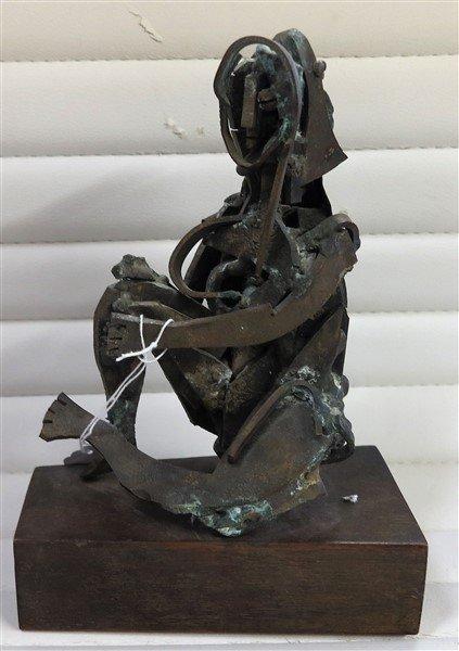 """10 """" bronze sculpture (Snell)"""