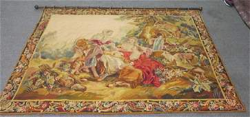 19th Cent. French Tapestry 5' x 6.5'