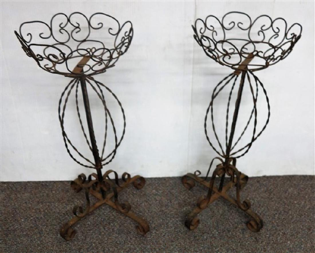Pair wire stands
