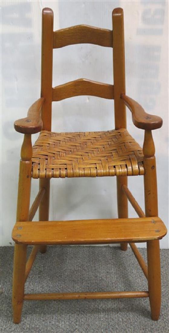 18th century child's chair