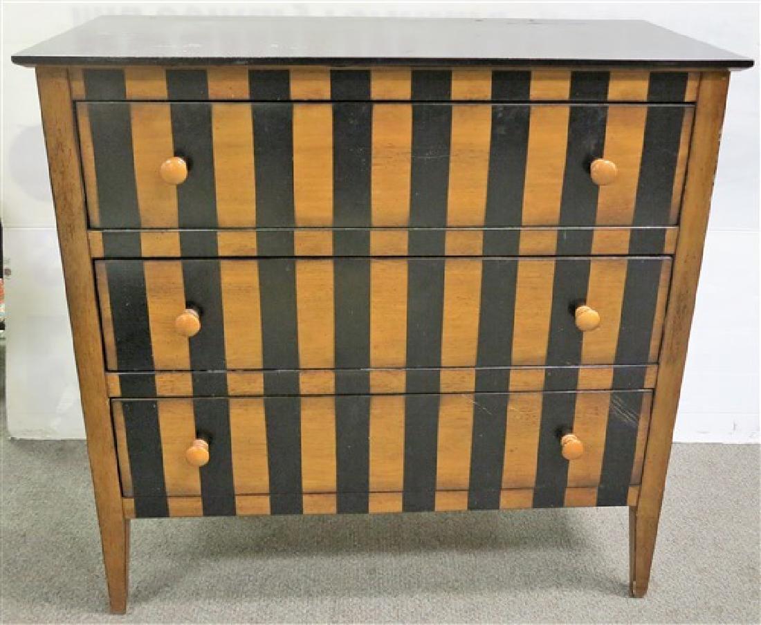 3 drawer modern chest