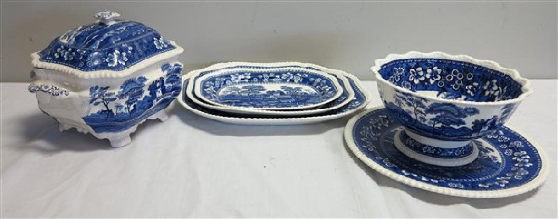 6 piece Copeland spode serving lot