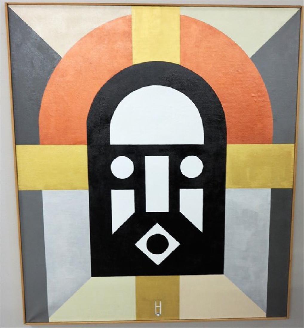 """Earl Hubbard 36 X 42 acrylic on linen """"The Prophet"""