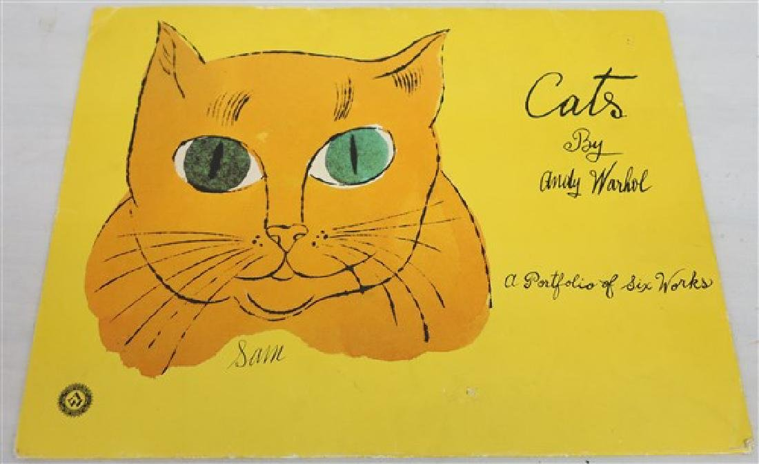 """Cats"" by Warhol (two missing)"