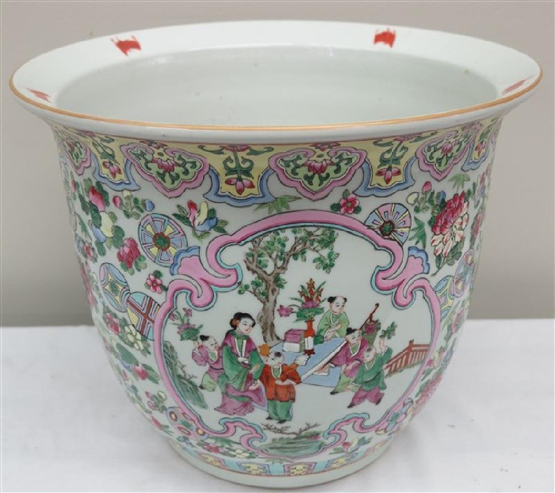 "12"" Chinese painted vessel"