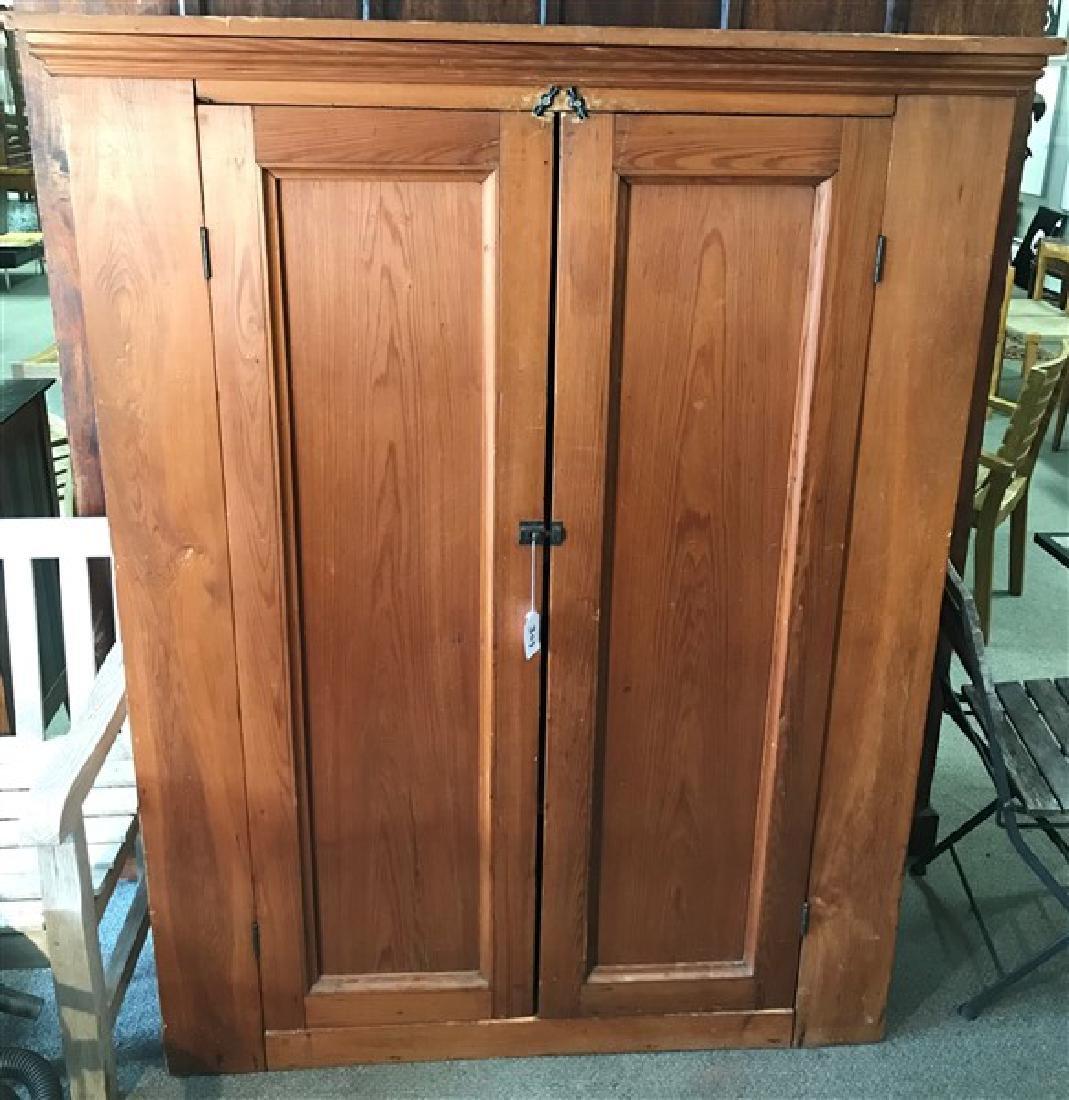 2 door pine wardrobe