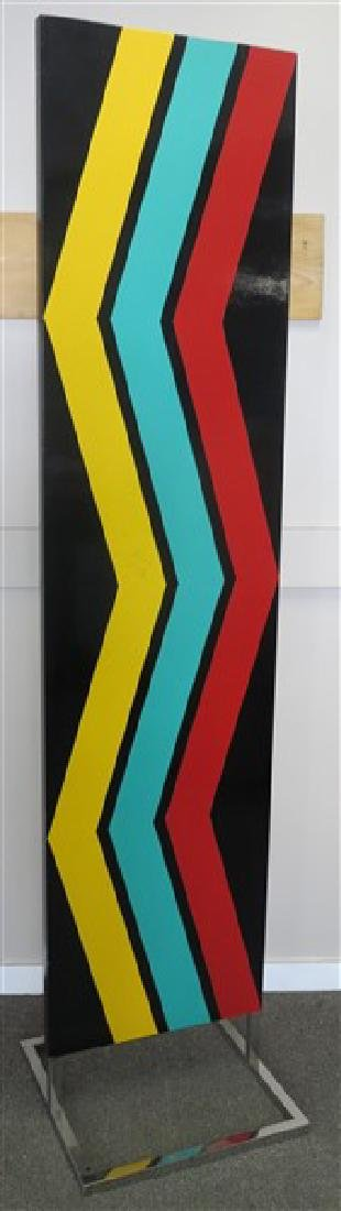 """Mid century abstract panel approx 84"""" tall"""