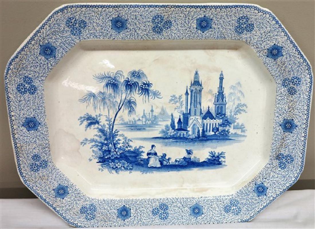 "6 Pc ""AS IS"" Basket & English porcelain"