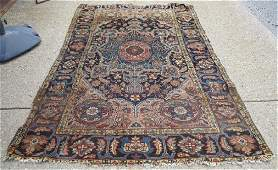 Antique Persian rug 43 X 64