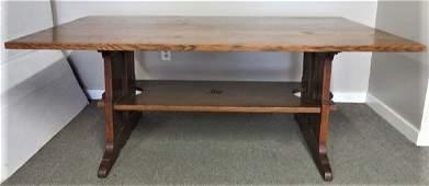 L & JG Stickley Dining Table 45 X 72