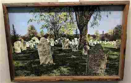 """Oil on Canvas, Lois Novacek 26""""x38"""""""