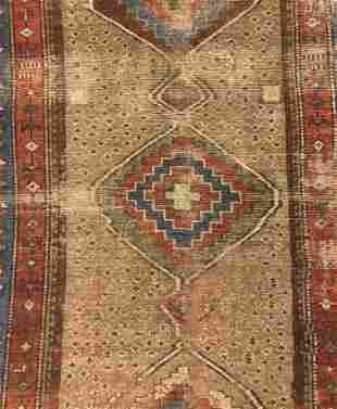 Antique Persian Mat 3'x6'