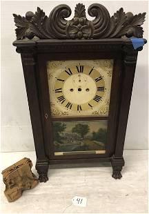19th Cent. Federal Clock, Richard Ward, Salem CT -Think