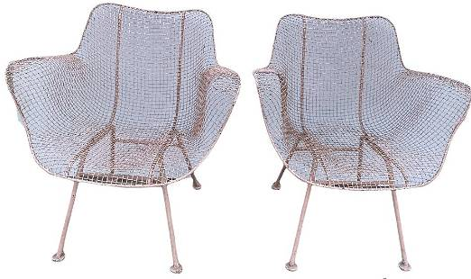 Two MCM Wire Chairs