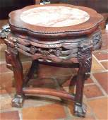 Small Oriental Tabouret