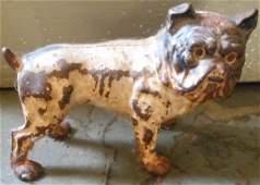 Cast Iron Bulldog Doorstop