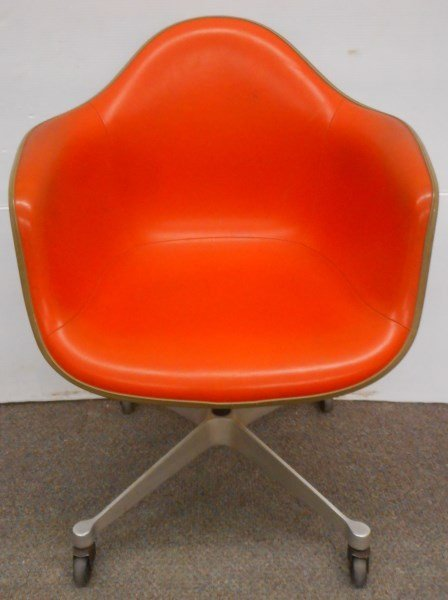 Herman Miller Leather Bucket Chair